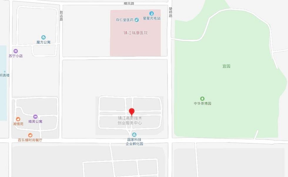 镇江新爱示精密机械有限公司周辺の地図